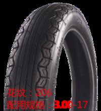 轮胎 花纹206  配用规格3.00-17